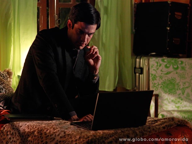 Félix assiste ao depoimento de Mariah (Foto: Ellen Soares/ TV Globo)