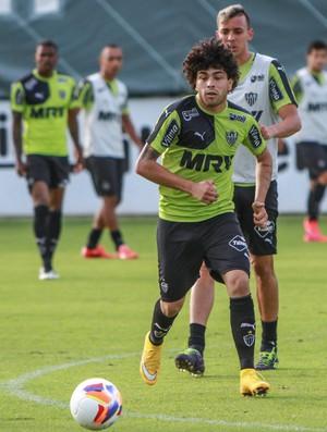Luan, Patric treino Atlético-MG (Foto: Bruno Cantini \Flickr Atlético-MG)