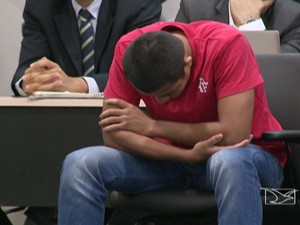 Jhonathan Silva negou ser pistoleiro (Foto: Reprodução/TV Mirante)
