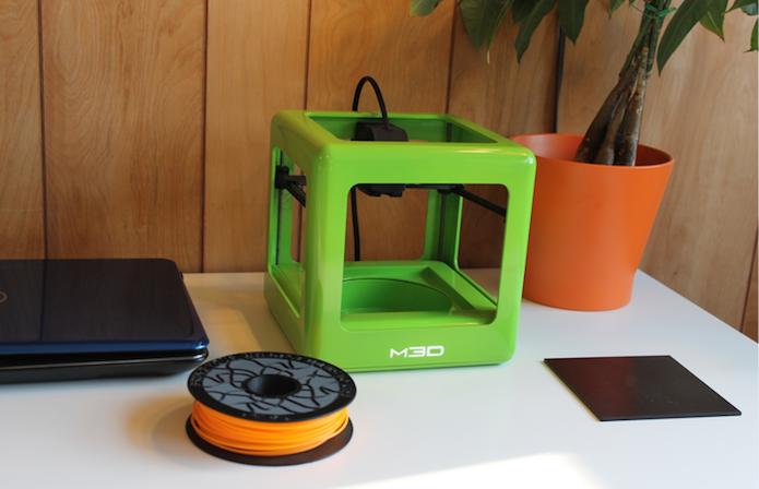 The Micro, impressora 3D barata de US$ 300, bate meta no Kickstarter (Foto: Divulgação/The Micro)