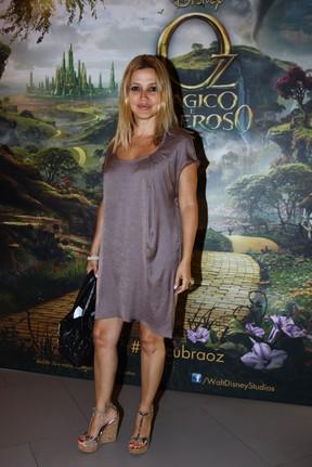 Patrícia de Sabrit em pré-estreia de filme em São Paulo (Foto: Manuela Scarpa/ Foto Rio News)
