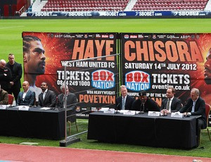boxe david haye e dereck chisora (Foto: Agência Getty Images)