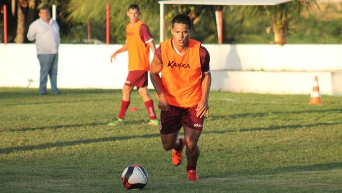 América-RN - Daniel Morais, atacante (Foto: Canindé Pereira/América FC)