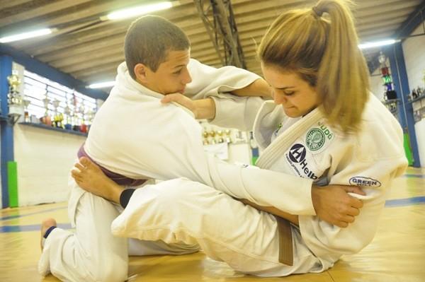 Ainê Schimdt, judoca mogiana (Foto: Divulgação)