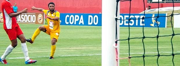 maxi biancucchi em jogo-treino do vitoria (Foto: Divulgação/Site Oficial EC Vitória)