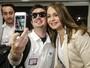 Gabriela Spanic, de 'A Usurpadora' chega ao Brasil e é tietada por fãs
