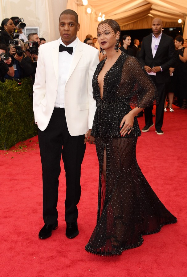 "NEW YORK, NY - MAY 05:  Jay-Z and Beyonce attend the ""Charles James: Beyond Fashion"" Costume Institute Gala at the Metropolitan Museum of Art on May 5, 2014 in New York City.  (Photo by Larry Busacca/Getty Images) (Foto: Getty Images)"