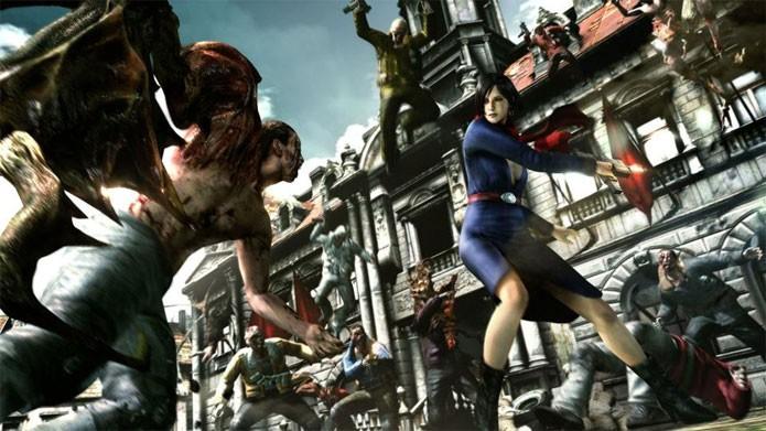 Resident Evil 6 em promoção na PSN (Foto: Divulgação)