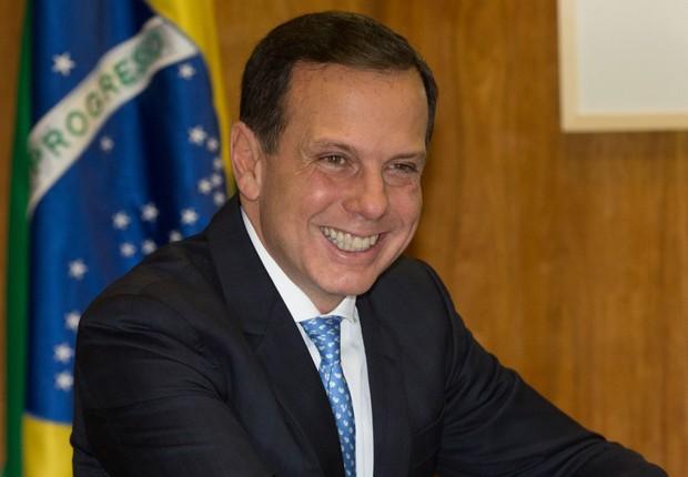 O prefeito eleito de São Paulo, João Doria  (PSDB), durante visita à Câmara dos Deputados (Foto: Lula Marques/Agência PT)