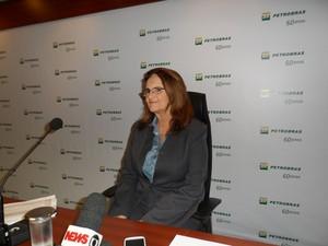 Graça Foster concedeu entrevista no Rio de Janeiro (Foto: Felipe Reis/Divulgação)