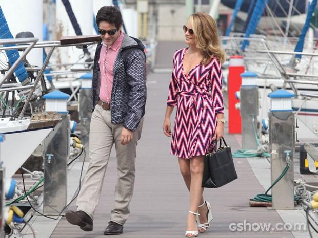 O Pamela e Jonas conversam? Não perca as próximas emoções! (Foto: Pedro Curi/TV Globo)