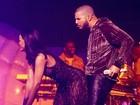 Rihanna sensualiza com Drake em show nos Estados Unidos