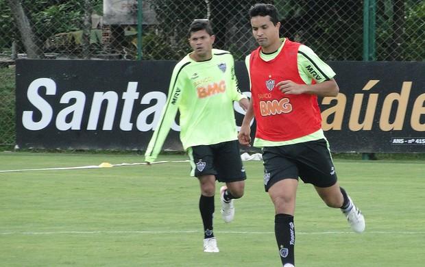 Treino Atlético-MG, Dudu Cearense (Foto: Leonardo Simonini / Globoesporte.com)