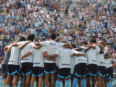 Londrina no Estádio do Café (Foto: Site oficial do Londrina/Pedro A. Rampazzo)