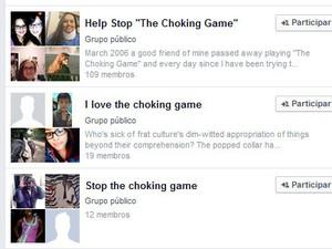 Grupos no Facebook se dividem entre o repúdio e o incentivo à prática (Foto: Reprodução/Facebook)