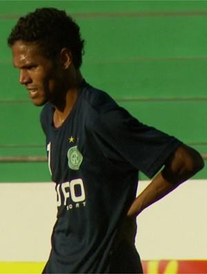 Fabinho, atacante do Guarani (Foto: Reprodução EPTV)