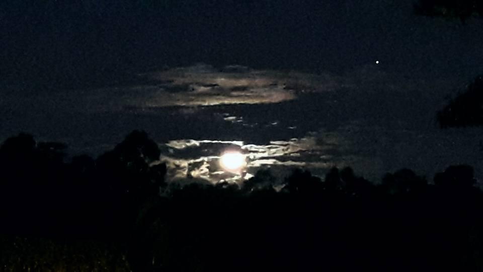 lua azul (Foto: Susi Massoco)
