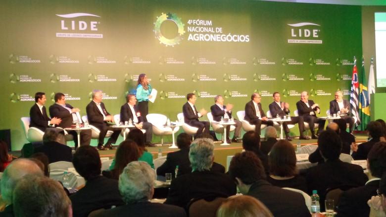 forum-lide-agronegocios (Foto: Raphael Salomão/Ed. Globo)