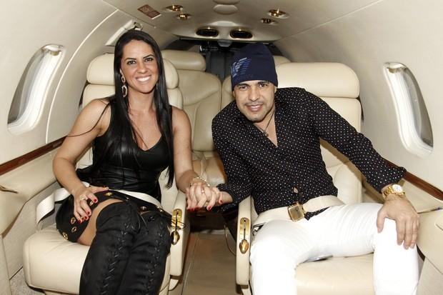 Zezé Di Camargo e Graciele Lacerda (Foto: Celso Tavares/EGO)