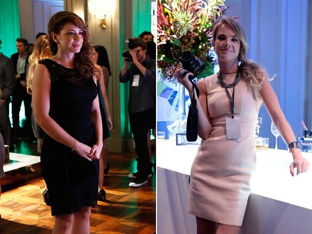 Cris e Érika arrasaram com seus penteados (Foto: Arthur Meninea/TV Globo)
