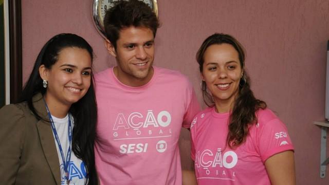 Ação Global 2013 - Goiânia (Foto: Valdemy Teixeira / Divulgaçao Tv Anhanguera)