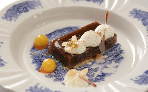 Que Seja Doce - Ep, 25 - Seco e Molhado - Mousse de chocolate com paoca e laranja kinkan (Foto: Divulgao)