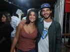 Giulia Costa, Brenno Leone e mais atores de 'Malhação' vão a bar no Rio