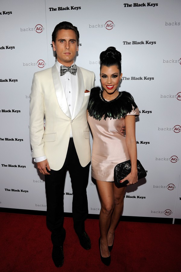 As celebridades Scott Disick e Kourtney Kardashian (Foto: Getty Images)