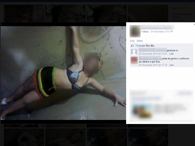 Presas que postaram fotos sensuais são irmãs e continuam na mesma cela (Foto: Reprodução / Facebook)