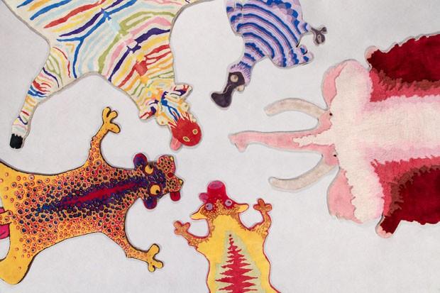 Haas Brothers fazem releitura dos tapetes de pele de animais (Foto: Divulgação)