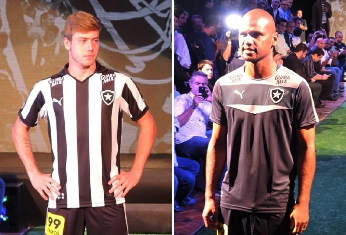 b85eac341bdf0 Acabou o mistério  Botafogo apresenta novo uniforme para a temporada