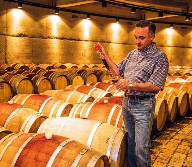 Empresa;Ciência;Vinho;Teste de amostra do vinho, em Luján (Foto: Getty Images)