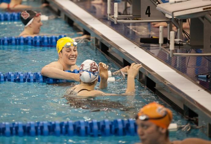 Missy Franklin, natação, campeonato americano universitário (Foto: Rodrigo Barbosa/Divulgação)