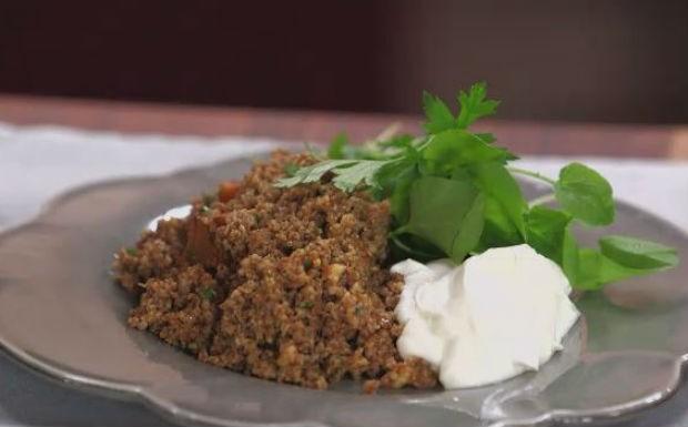 salada de trigo com abbora (Foto: Divulgao/GNT)