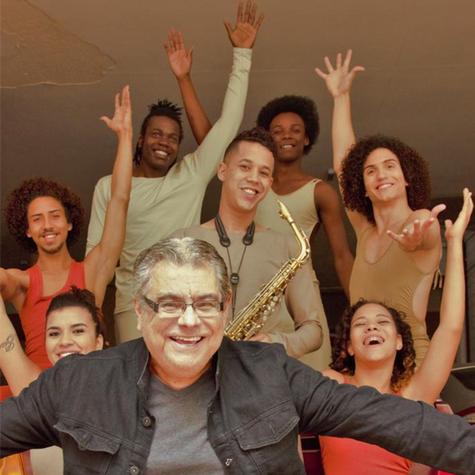 Flávio Marinho conferiu o espetáculo 'Um único grito' (Foto: Divulgação)