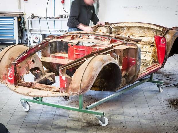 Restauro foi feito pela BMW Group Classic (Foto: Divulgação/BMW)