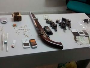 Material foi apreendido com suspeitos presos na operação 'Fomento' no RN (Foto: Divulgação/Polícia Civil do RN)