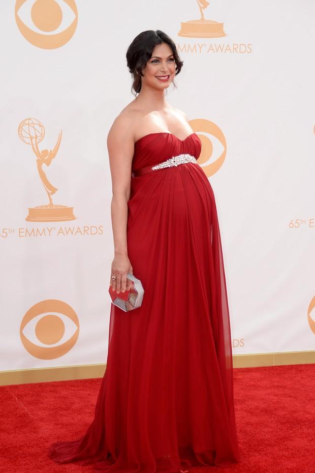 Morena Baccarin no Emmy (Foto: AFP)