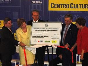 Centro Cultural Banco do Brasil é inaugurado em Belo Horizonte. (Foto: Pedro Ângelo/G1)