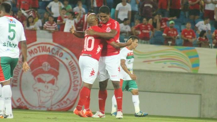 Max e Cascata - América-RN (Foto: Canindé Pereira/Divulgação)