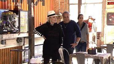 Ana Maria Braga visita cidade cenográfica de 'Sol Nascente'