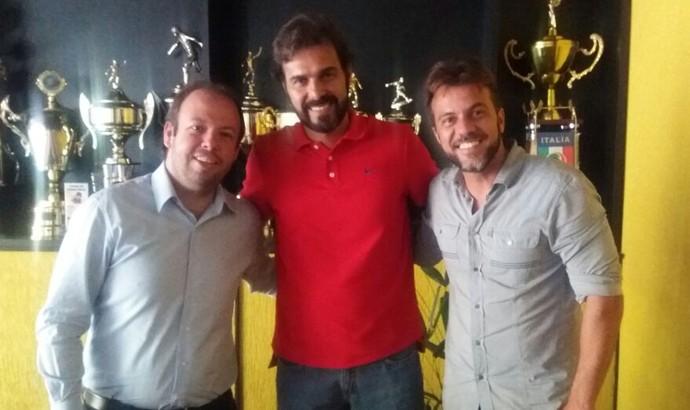 Cairo Lima, novo técnico do Voltaço para 2017 (Foto: Divulgação/VRFC)