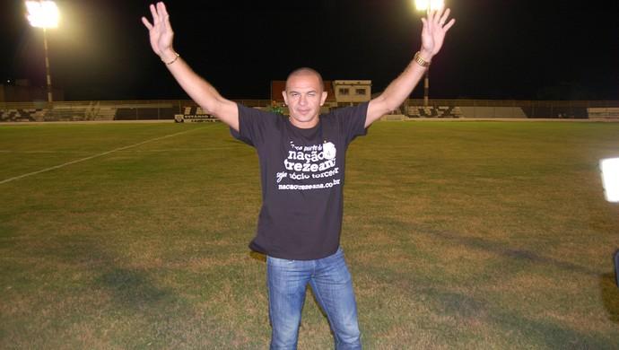 Fabrício Ceará, atacante do Treze (Foto: Silas Batista / GloboEsporte.com)