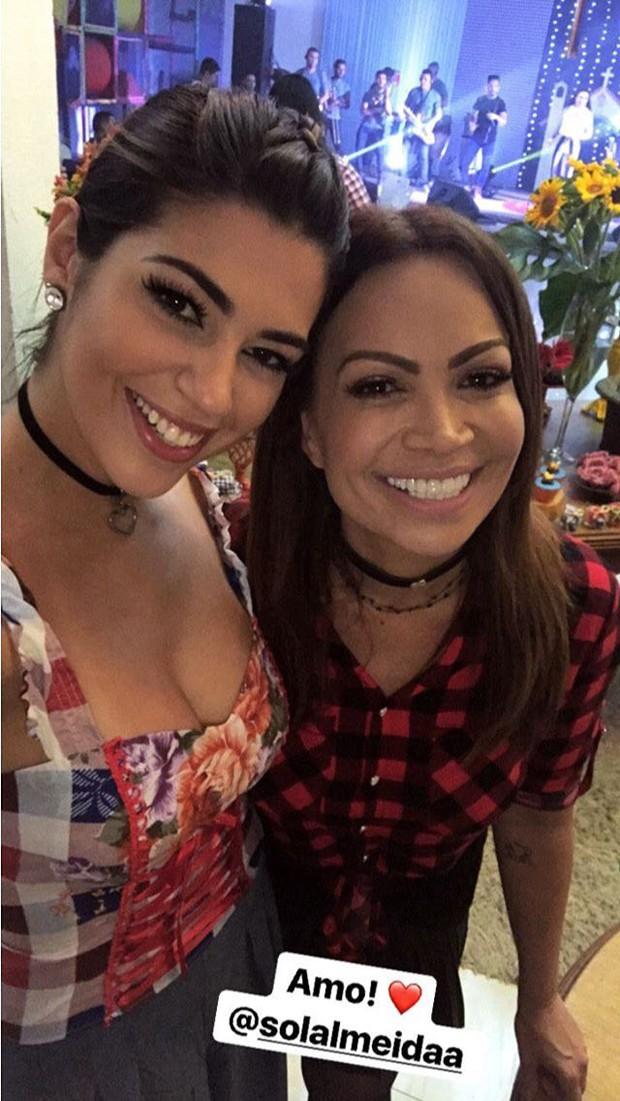 Vivian e Solange Almeida (Foto: Reprodução/Instagram)