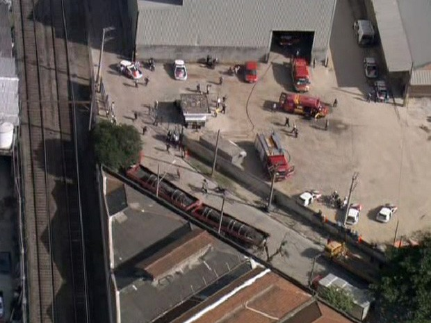 queda helicóptero (Foto: Reprodução/TV Globo)