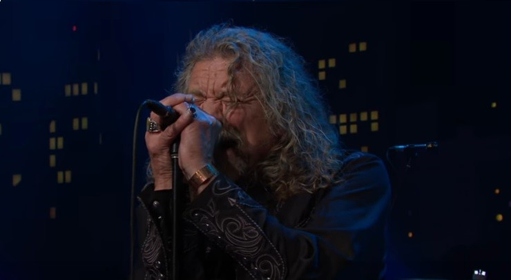 Robert Plant (Foto: Reproduo/Youtube)
