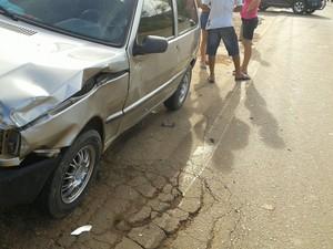 Acidente em Jaru, RO (Foto: Jaru Online/Reprodução)