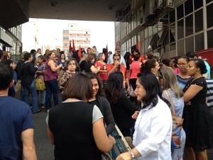 Grupo deliberou pela greve no dia 22 de agosto (Foto: Heloise Hamada/G1)