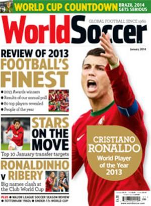cristiano ronaldo cr7 world soccer capa   (Foto: Reprodução )