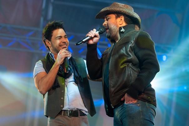 """Zezé di Camargo e Luciano cantaram, entre outros sucessos, """"Mexe que é Bom"""", """"Sonho de Amor"""" e """"No Dia em que Eu Saí de Casa"""" (Foto: Gonçalo Portugal/Globo)"""